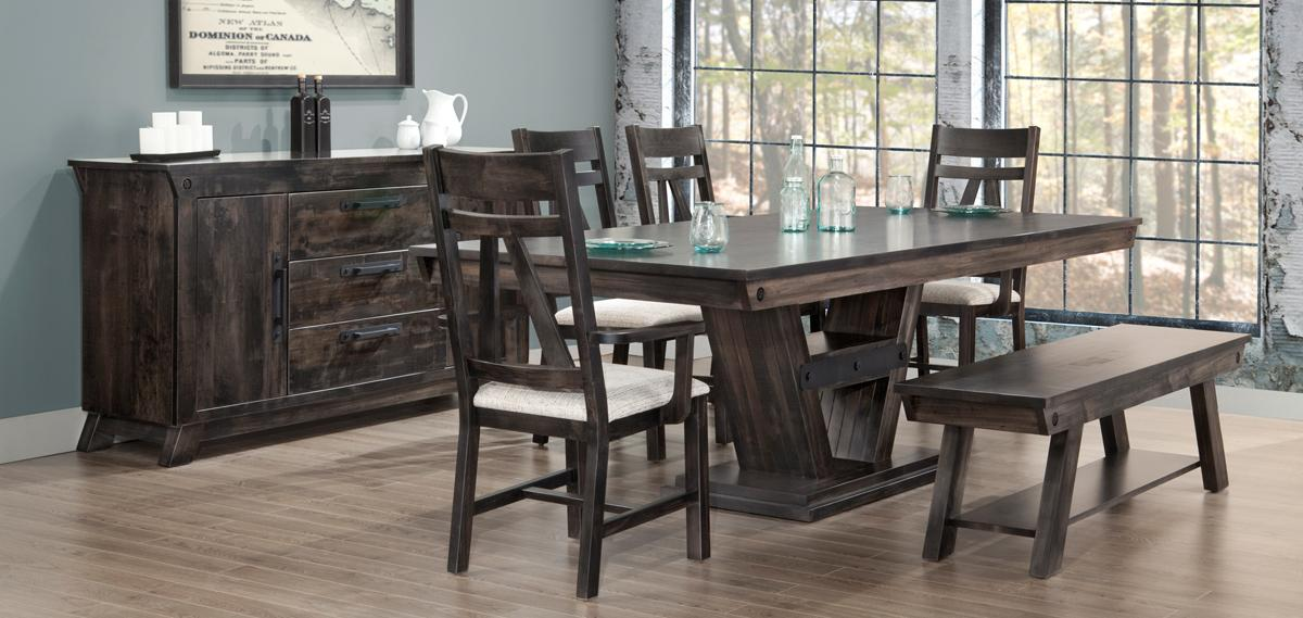 Algoma Dining Room Collection by Handstone