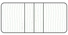 Center Leaves with 4'' Radius Configuration