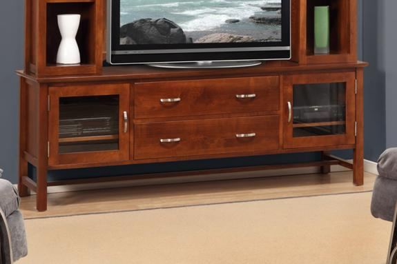 "Photo of Brooklyn 74"" HDTV Cabinet"