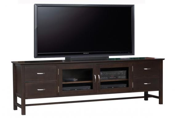 "Photo of Brooklyn 84"" HDTV Cabinet"