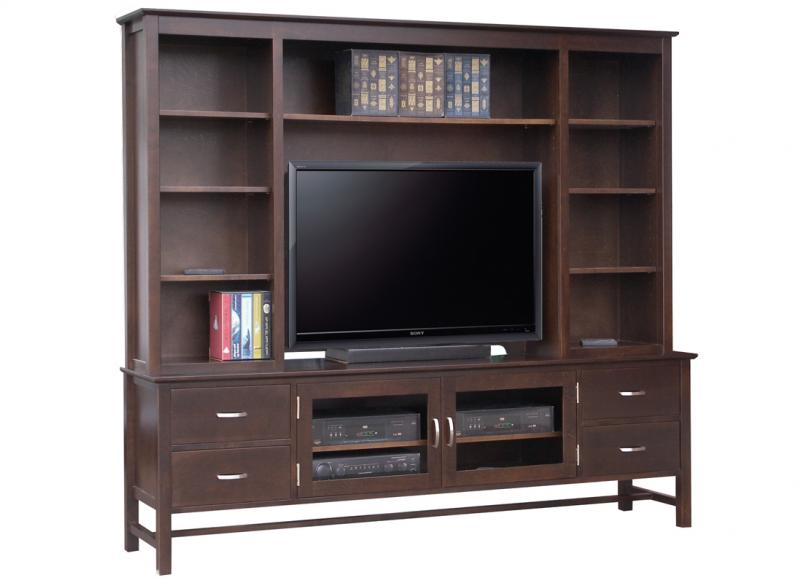 Brooklyn 84 Quot Hdtv Cabinet With Hutch Handstone