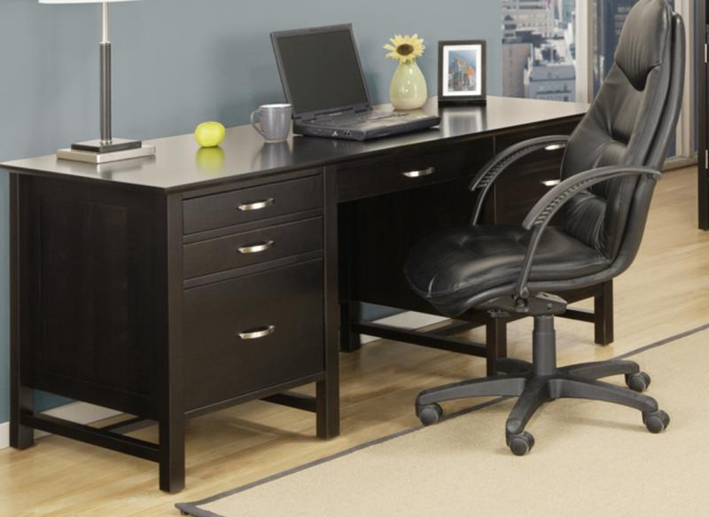 Brooklyn 28 X68 Executive Desk Handstone