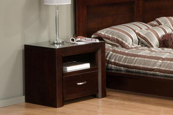 Photo of Contempo 1 Drawer Nightstand