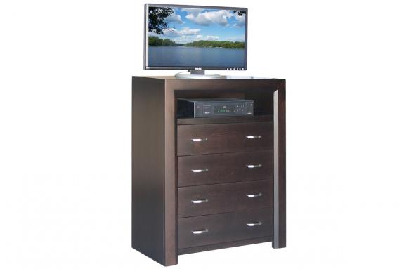 Photo of Contempo 4 Drawer TV Hiboy