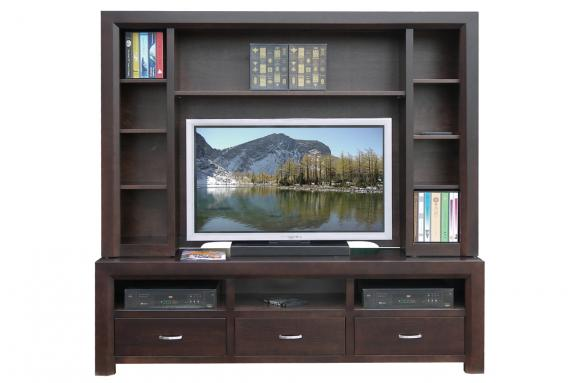 Photo of Contempo 72'' HDTV Console w/ Hutch