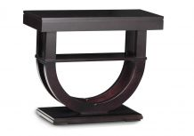 Contempo Pedestal Sofa Table