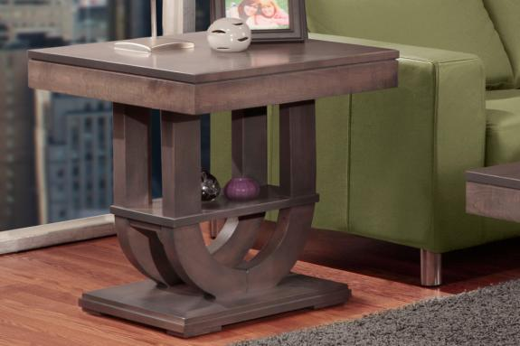 Photo of Contempo Pedestal End Table