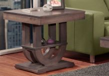 Contempo Pedestal End Table