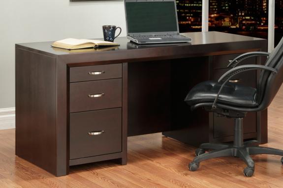 Photo of Contempo 28x64 Executive Desk