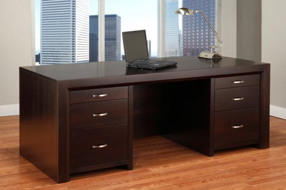 Photo of Contempo 32x72 Executive Desk