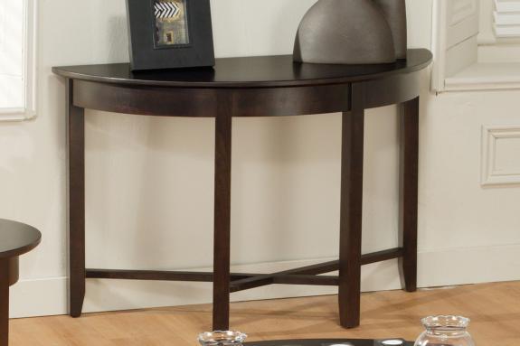 Photo of Demilune Half Round Sofa Table