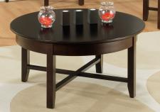 Demilune Round Coffee Table
