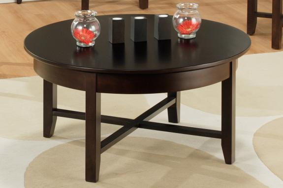 Photo of Demilune Round Coffee Table