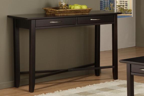 Photo of Demilune Rectangle Sofa Table