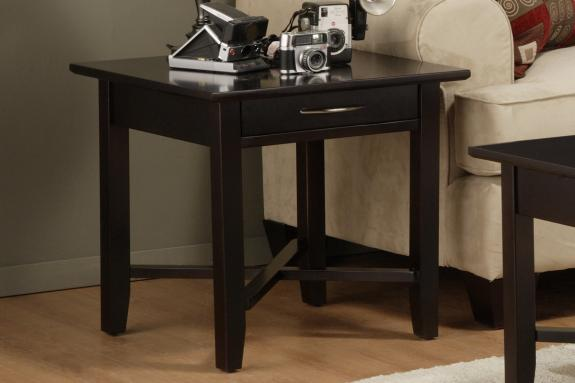 Photo of Demilune End Table