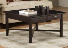Demilune Square Coffee Table