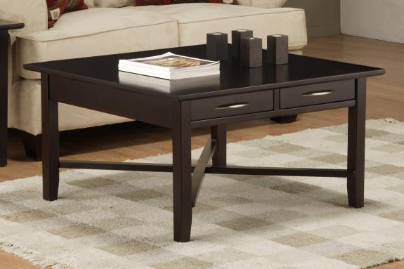 Photo of Demilune Square Coffee Table