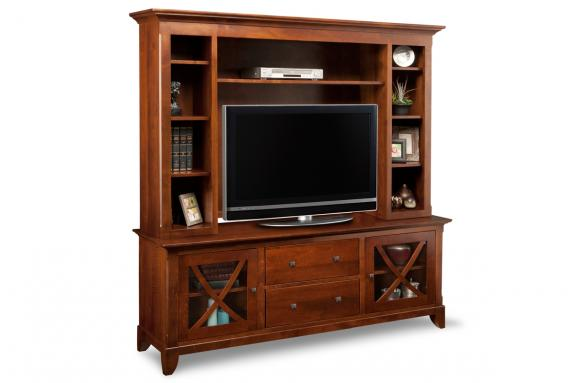 "Photo of Florence 75"" HDTV Cabinet with Hutch"