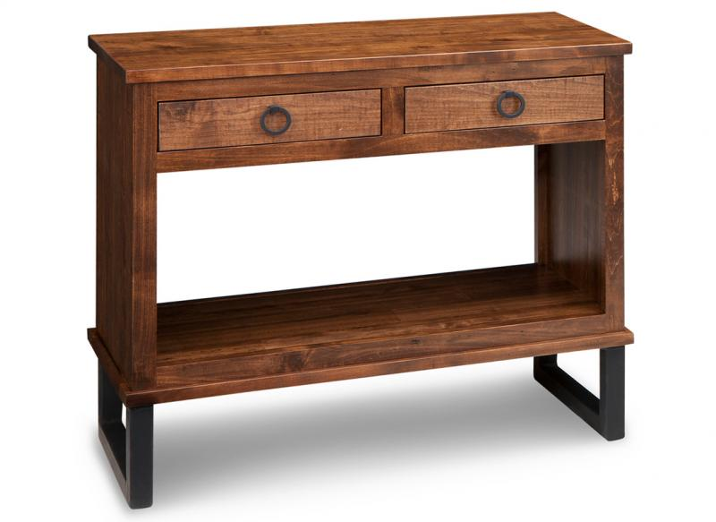 Cumberland 16x35 Sofa Table With 2 Drawers Handstone