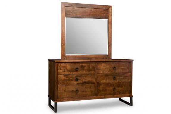 Photo of Cumberland 6 Drawer Dresser & Mirror