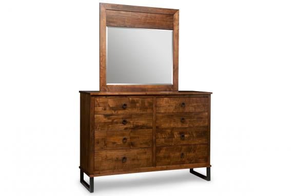 Photo of Cumberland 8 Drawer Dresser & Mirror