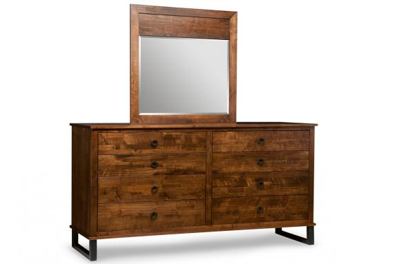 Photo of Cumberland 8 Drawer Dresser & Mirror
