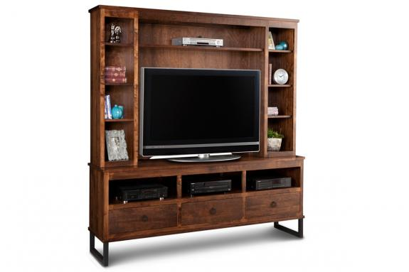 Photo of Cumberland 73'' HDTV Cabinet with Hutch