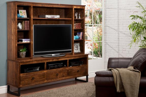 Photo of Cumberland 83'' HDTV Cabinet with Hutch