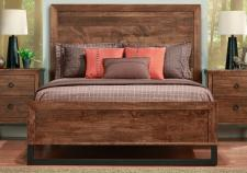 Cumberland Bed With Low Footboard w/wood Head
