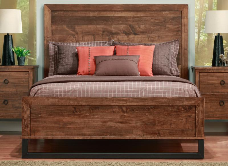 Cumberland Bed With Wood Headboard Amp Low Footboard Handstone