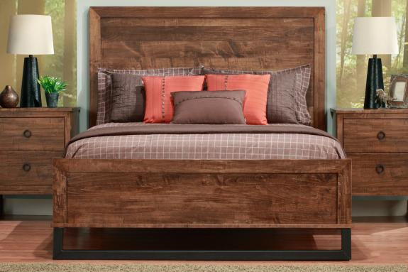 Photo of Cumberland Bed With Low Footboard w/wood Head