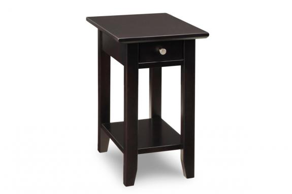 Photo of Demilune Square Chair Side Table