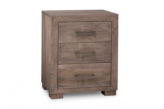 Photo of Steel City 3 Drawer Night Stand