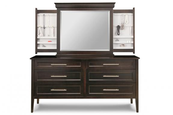 Photo of Stockholm Long  Dresser & Mirror