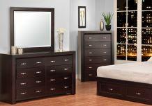 Contempo Dresser & Mirror