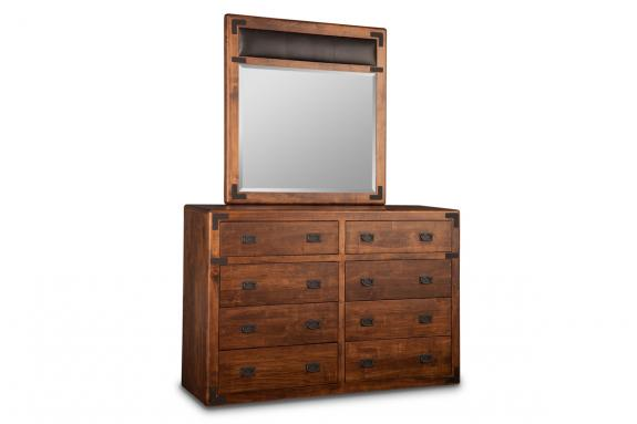 Photo of Saratoga High Dresser & Mirror