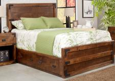 Saratoga Storage Bed w/Low Footboard