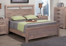 Steel City Bed w/low Footboard