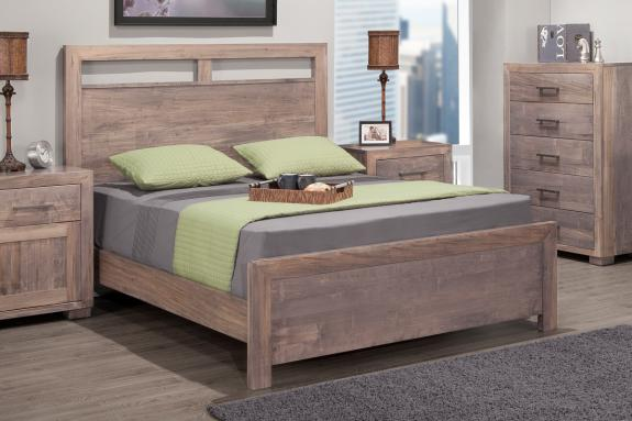 Photo of Steel City Bed w/low Footboard