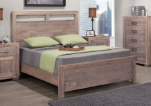 Steel City Bed w/low Footboard
