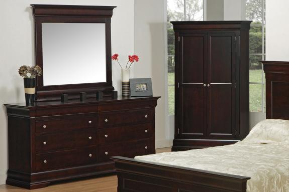 Photo of Phillipe Double Dresser & Mirror
