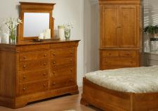 Phillipe High Dresser & Mirror