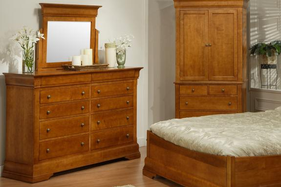 Photo of Phillipe High Dresser & Mirror