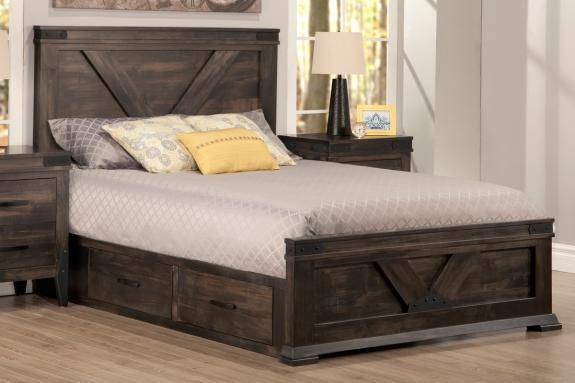 Photo of Chattanooga Storage Bed With Low Footboard