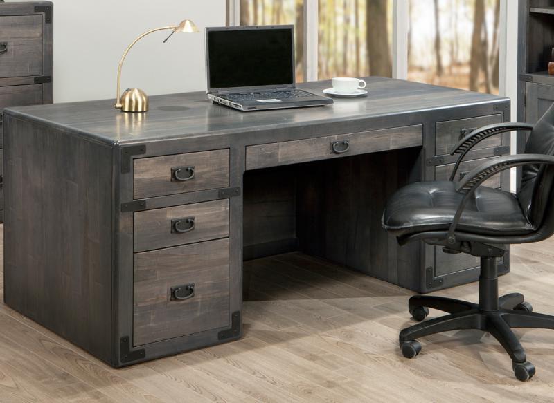 Saratoga Executive Desk Handstone