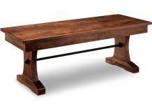 "Glengarry 48"" Pedestal Bench"