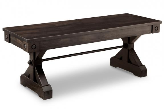 """Photo of Rafters 48"""" Bench"""