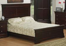 Phillipe Panel Bed  with Low Footboard