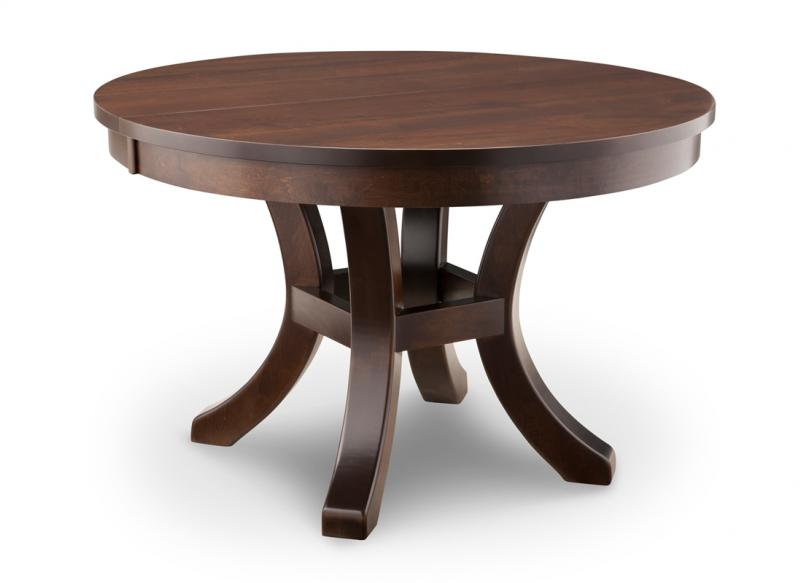 Yorkshire round dining table handstone
