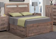 Steel City Storage Platform Bed